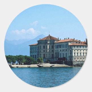 Isola Bella, Lake Maggiore, Italy Round Sticker