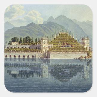 Isola Bella, Lake Maggiore: the terraced gardens, Square Stickers