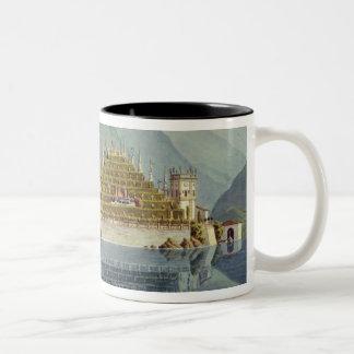 Isola Bella, Lake Maggiore: the terraced gardens, Two-Tone Coffee Mug
