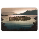 Isola Bella por el claro de luna, lago Maggiore, I Imán Flexible