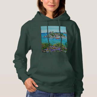 Isola Bella Women's Basic Hooded Sweatshirt