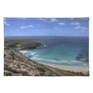 Isola dei Conigli - Lampedusa Cloth Placemat