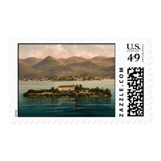 Isola Madre I Lake Maggiore Piedmont Italy Stamp