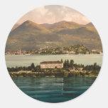 Isola Madre I, Lake Maggiore, Piedmont, Italy Classic Round Sticker