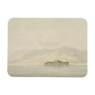 Isola Madre, Lago Maggiore, c.1781 (w/c over graph Magnet