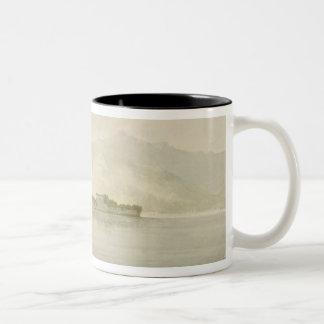 Isola Madre, Lago Maggiore, c.1781 (w/c over graph Two-Tone Coffee Mug