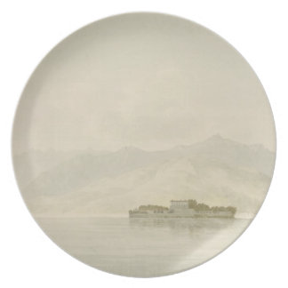 Isola Madre, Lago Maggiore, c.1781 (w/c sobre gráf Platos De Comidas