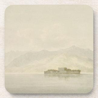 Isola Madre, Lago Maggiore, c.1781 (w/c sobre gráf Posavasos
