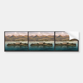 Isola Madre, Maggiore, Lake of, Italy vintage Phot Bumper Stickers