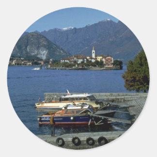 Isola Pescatori, Lake Maggiore, Italy Stickers