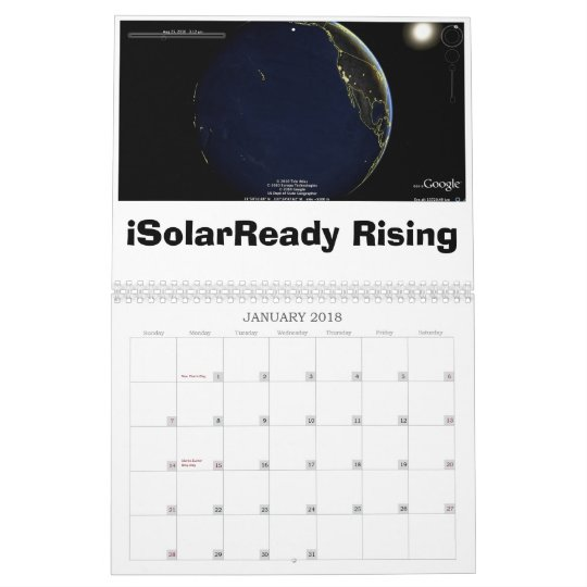 iSolarReady in 2011 Calendar