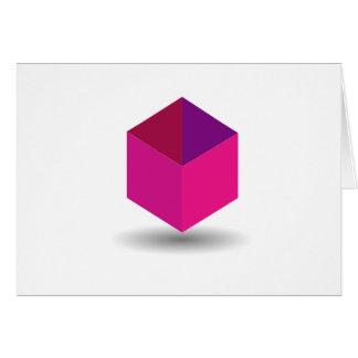 Isolated box card