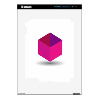 Isolated box decals for iPad 3