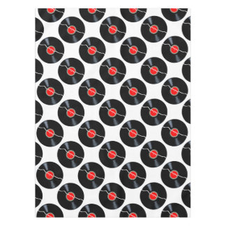Isolated Broken Record Tablecloth