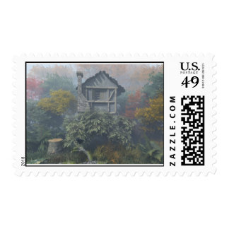 Isolated By Nature Postage Stamp