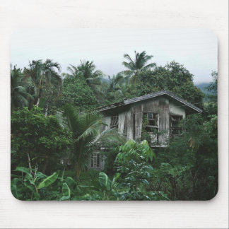 isolated green island ancestral home mouse pad