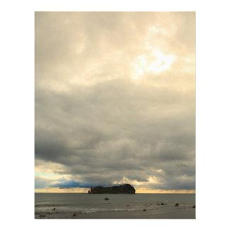 Isolated island flyer