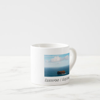 Isolated islet espresso cup