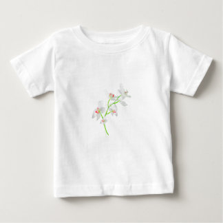 Isolated Orquideas Blossom Baby T-Shirt