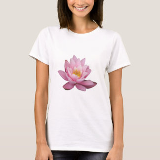 Isolated pink waterlily, background optional T-Shirt