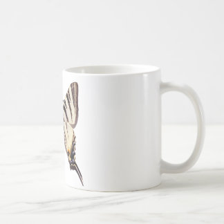 Isolated Scarce Swallowtail butterfly Coffee Mug