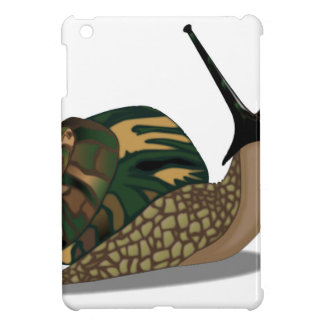 Isolated Snail Cover For The iPad Mini