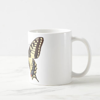 Isolated swallowtail butterfly PNG Coffee Mug