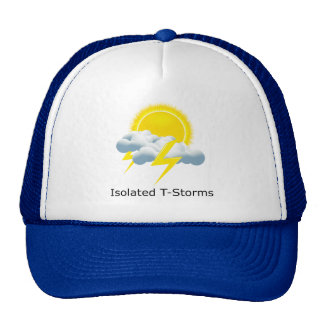 Isolated T-Storms Hats