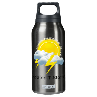 Isolated T-Storms Insulated Water Bottle