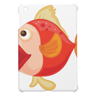 Isolated tropical fish on white case for the iPad mini