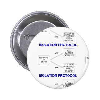 ISOLATION PROTOCOL 2 INCH ROUND BUTTON