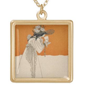 """Isolda, ejemplo """"del estudio"""", 1895 (lith colgante cuadrado"""