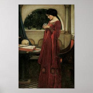 Isolda y bola de cristal 1902 impresiones