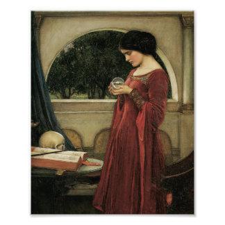 Isolda y bola de cristal 1902 arte fotografico
