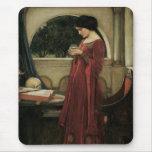 Isolda y bola de cristal 1902 tapete de ratones