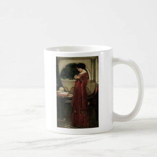 Isolde and Crystal Ball 1902 Coffee Mug