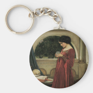 Isolde and Crystal Ball 1902 Keychain