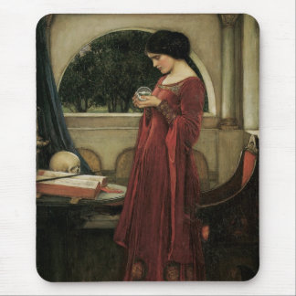Isolde and Crystal Ball 1902 Mouse Pad