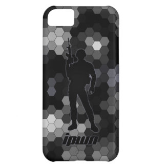 iSoldier - ipwn - B&W Mosaic - Cover For iPhone 5C