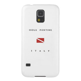Isole Pontine Italy Scuba Dive Flag Galaxy S5 Case