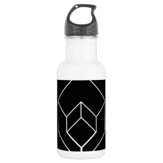 Isometric object 18oz water bottle