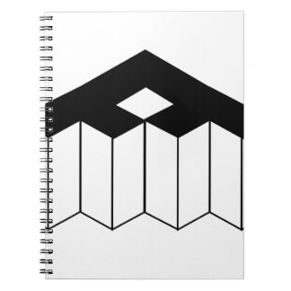 Isometric object notebook