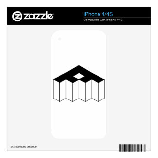 Isometric object decals for the iPhone 4S