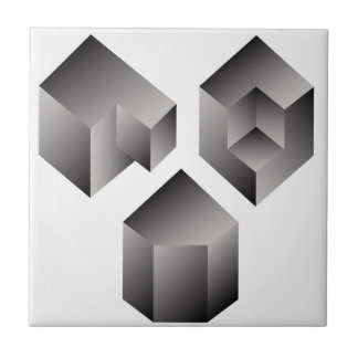 Isometric objects tile