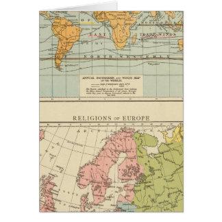 Isotérmico, religiones Europa de los vientos Felicitacion