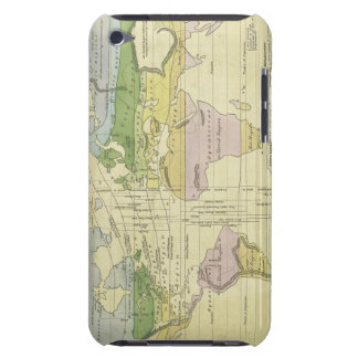 Isothermal chart climates & productions Woodbridge iPod Case-Mate Cases