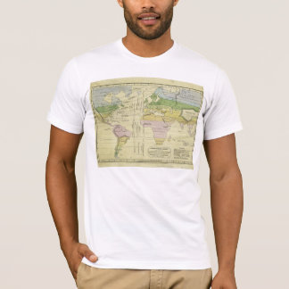 Isothermal chart climates & productions Woodbridge T-Shirt