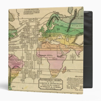 Isothermal chart, productions 3 ring binder
