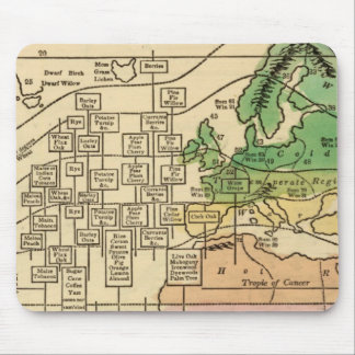Isothermal chart, productions mouse pad