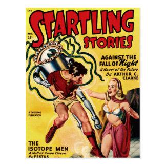Isotope Men Postcard